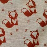 lišky na krémové 210 g/m2